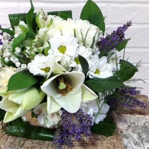 Bouquet en blancos